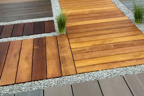 Holzterrasse/Terrassendielen - Garten