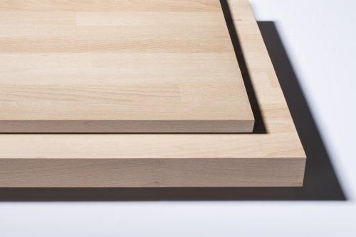 Leimholzplatten - Beispiele