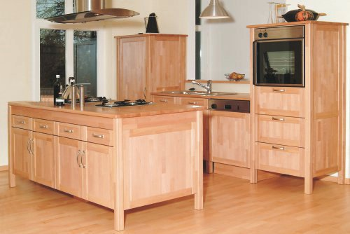 Möbelbau und Maßmöbel: Küchenarbeitsplatte nach Maß - Buche, massiv