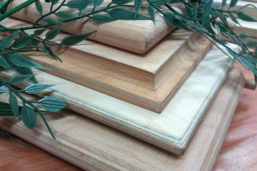Multiplexplatten, natur - Farbbeispiele