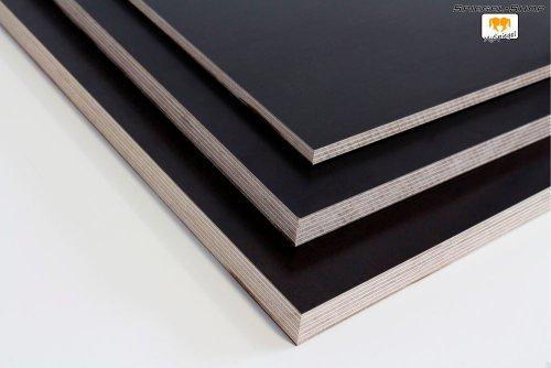 Siebdruckplatten - Beispiele