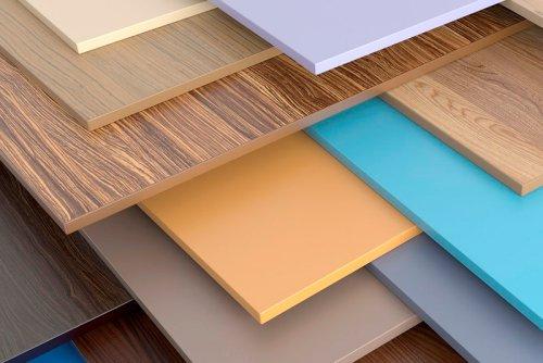 Span-Dekorplatten - Beispiele