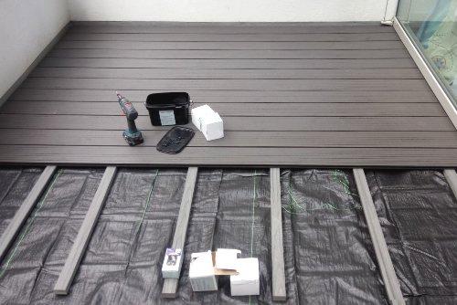 WPC-Terrasse im Bau